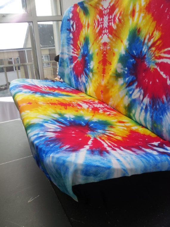 Set of car seat covers front and rear covers: TYE DYE English