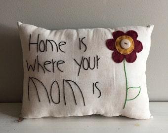Handmade Mom Pillow