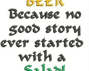 Beer Bottle Cozie or Beer Can Cozie