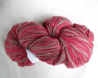 "Plain & Fancy Hand Dyed Wool Yarn ""Red Brown Dip"""