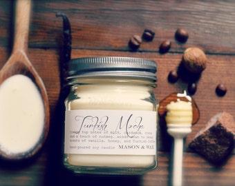 Turkish Mocha Mason Jar Soy Candle