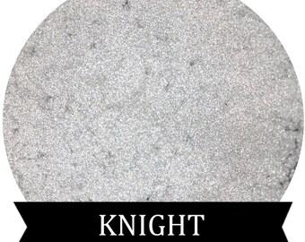 KNIGHT Metallic Silver White Eyeshadow