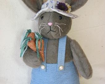 "Rabbit pattern:  ""Fresh Dug Carrots"" #616"