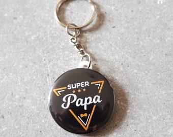 """""""SUPER Dad"""" keychain"""
