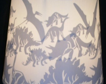 Dinosaur lamp shade etsy dinosaur lamp shade mozeypictures Gallery