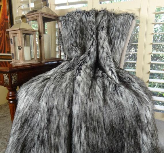 King Size Faux Fur Throws