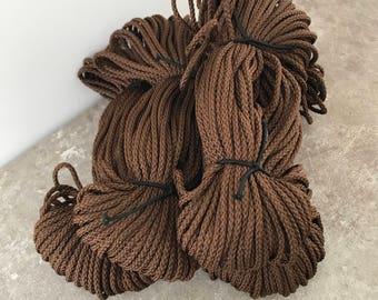 corde polypropyl ne orange 4mm en macram cordon tricot. Black Bedroom Furniture Sets. Home Design Ideas