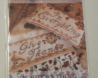 Heartstrings Samplery In Everything Pincushion and Sewing Pocket Chart