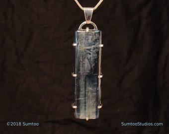 Kyanite in Argentium Sterling Silver Pendant