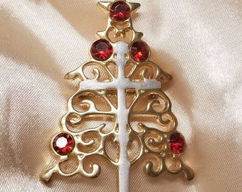 Lovely Christmas Tree with Cross