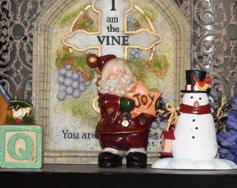 Vintage Santa Joy Figurine