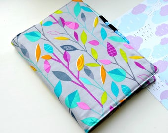 Cover fabric  for Notebook, for HAPPY MINI PLANNER, cover for leuchtturm1917 A5 size, Handmade Cover, Hobonichi A5, A6, Weekly Planner
