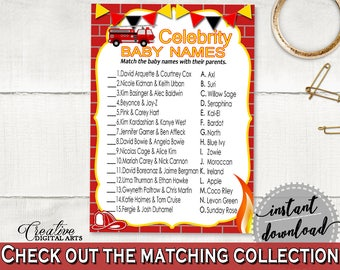 Celebrity Baby Names Baby Shower Celebrity Baby Names Fireman Baby Shower Celebrity Baby Names Red Yellow Baby Shower Fireman LUWX6