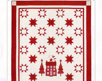 Bunny Hill Designs Wish on a Star Quilt Pattern  BHD 2084 Christmas