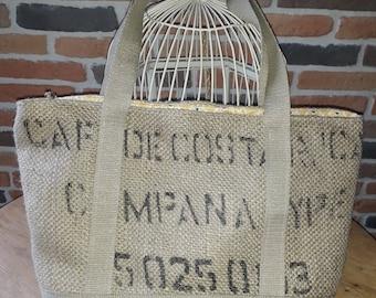 Coffee bag tote bag