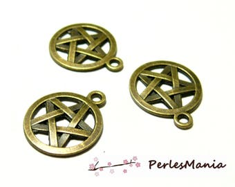 10 stars and circles 2Y3412 pendants BRONZE metal