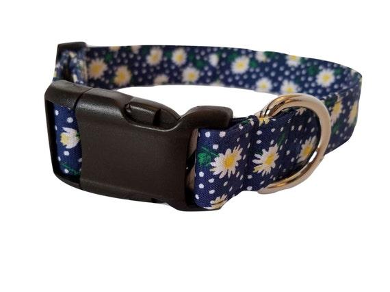Dog Collars Daisy Pattern