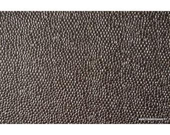 Faux cuir BUBBLES Acier .x1m