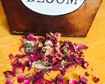 Organic Rose Petals ~Hermit Crab Food