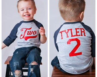 2nd birthday Baseball shirt, 2nd birthday shirt, boys birthday shirt,  baseball t-shirt, baseball birthday party, baseball jersey,