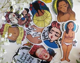 Little Frida Kahlo Stickers
