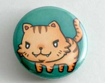 Toradora- Palmtop Tiger Button