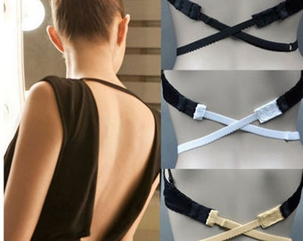 Low Back Bra Strap, Backless Bra Strap, Backless Dress Bra