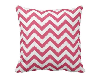 SALE | 50% OFF: 20x20 Pillow Cover Hot Pink Pillow Cover Pink Throw Pillow Cover Pink Chevron Pillows Decorative Pillows for Couch Pillows