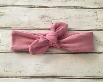 Rose Knit Top Knot