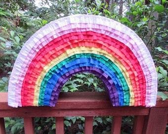 Rainbow Piñata, Birthday Pinata, birthday, party