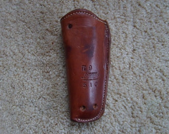 Holster, Leather  Gun Holster by George Lawrence Co., Portland, Or.