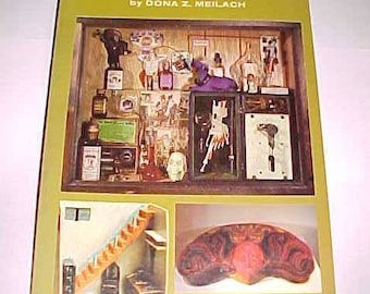 Box Art Assemblage and Construction Altered Art Book