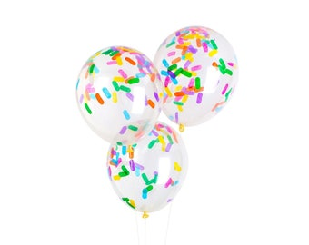 Sprinkles Confetti Balloon Pack