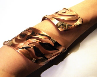 Copper cuff bracelet, Copper warrior bracelet, Warrior princess jewelry, copper cuff bracelet women, Women's Copper Cuff Bracelet, Christmas