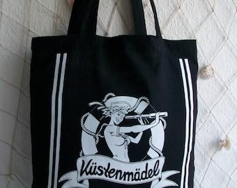 Coast girl style sailor bride Rockabella bag/Büddel in the sailor
