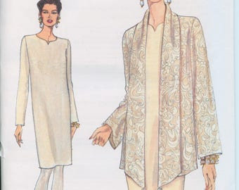 Vogue  Misses Jacket and Dress Pattern 9126 ( size 14-16-18 )