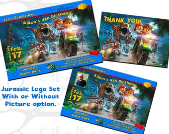 Lego invitation Etsy