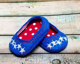 18 Inch Doll Shoes, Baby Doll Shoes, Shoes For Dolls, Pretend Play, Dress Up Doll, American, Girl Doll Shoes, Felt Doll Shoes, Doll Clothes