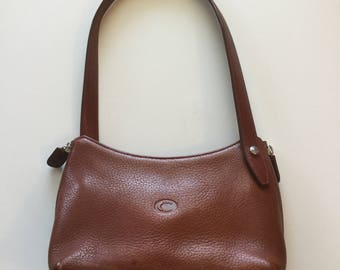 Chesneau Tan leather small shoulder bag