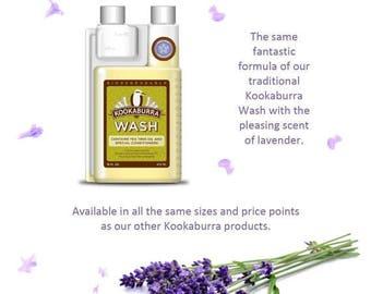 Kookaburra Delicate Wash, Lavender Scent, 16 Ounces