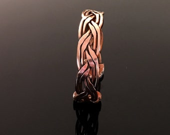 Magnetic bracelet copper, braided, with all its benefits