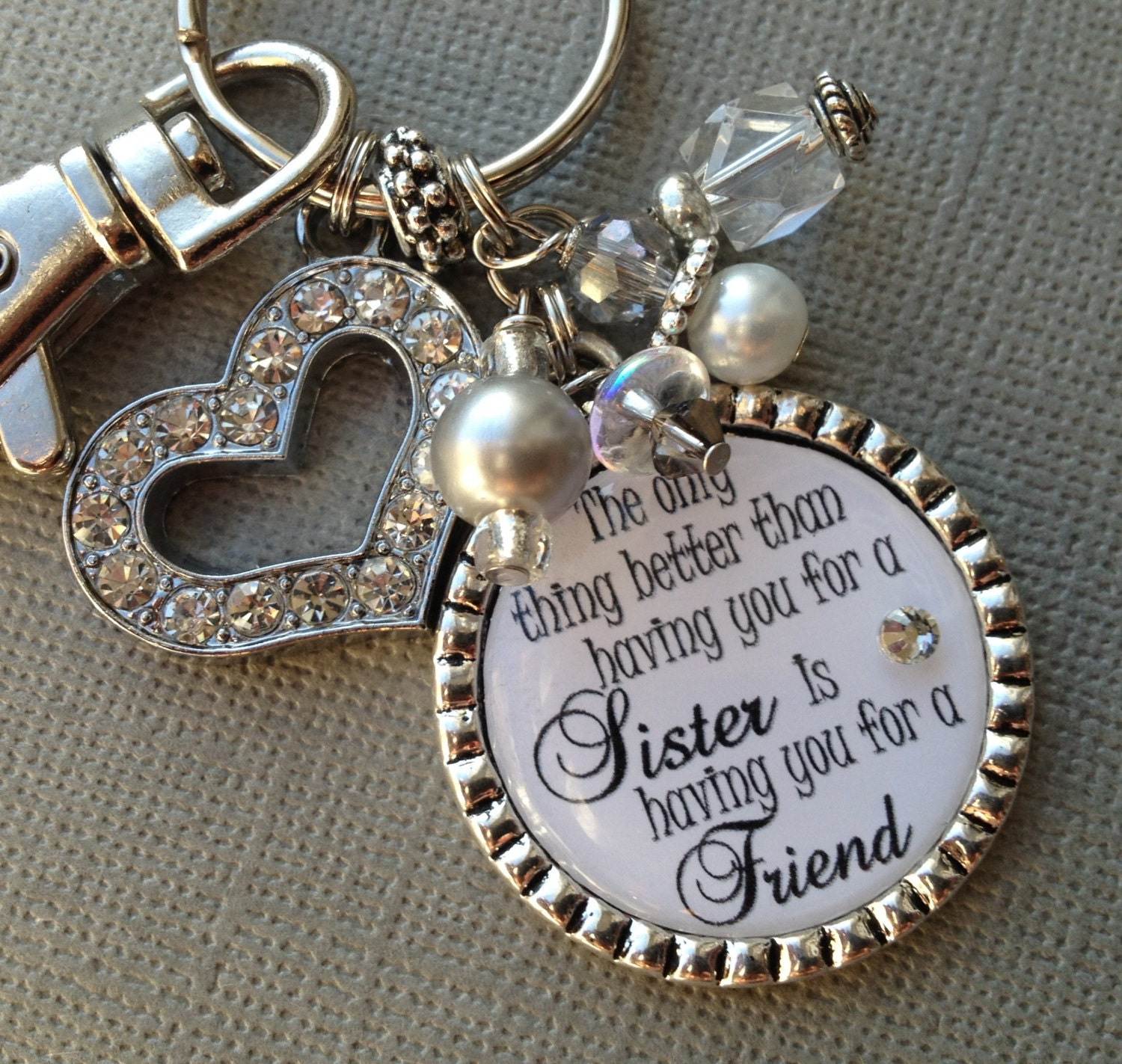 Sister gift personalized wedding quote birthday gift maid of zoom negle Gallery