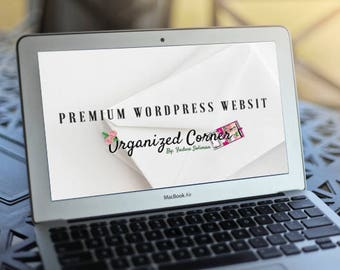 Premium WordPress Website package, WooCommerce WordPress Website, Website, E-Commerce, WordPress Design, Blog Website
