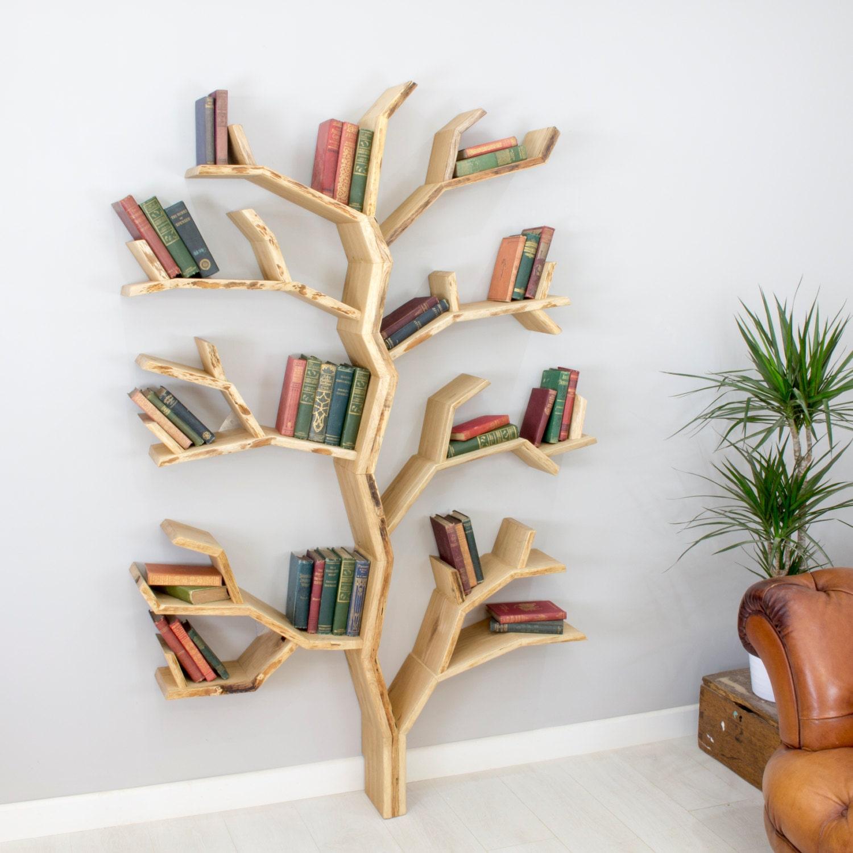 bookshelf of size bookcase online spruce shaped togootech large com tree
