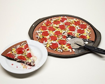 Pizza Eats Ya | Food For Thought Sculpture