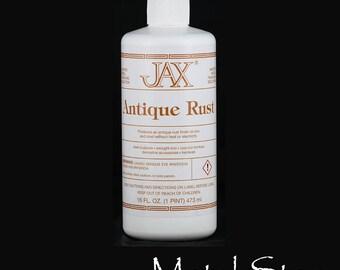 Jax Chemical's Antique Rust  - 16 ounce bottle