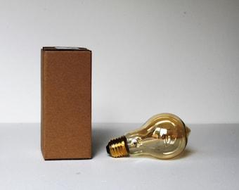 Vintage Edison Filament ampoule (A19) quadruple boucle - ES Edison à vis E27 - 220V - 40W