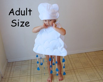 Adult Cloud Costume Halloween Rain Cloud Mens Costume Womens Costume Teen Adult Couple