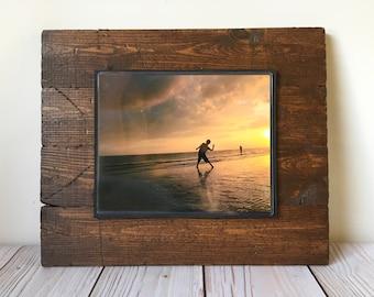 Picture Frame - Rustic Home Decor - 8x10 Frame - Wood Frame - Frame - Wedding Gift - Housewarming Gift - Farmhouse Decor - Rustic Decor