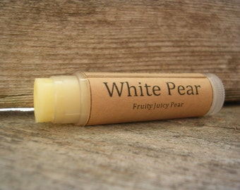 White Pear Natural Lip Balm